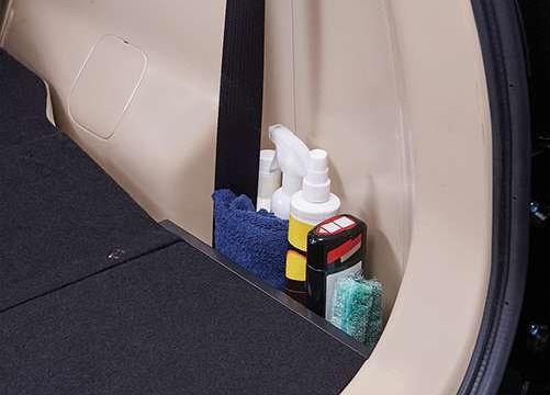 Tempat Penyimpanan Alat Cuci Mobil